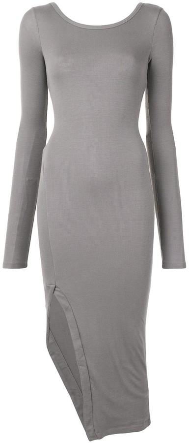 Alix Lester twist-back dress
