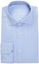 Bugatchi Geo Shaped Fit Dress Shirt