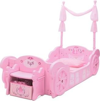 Delta Children Disney Princess Carriage Convertible Toddler Bed