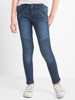 Gap High stretch moto skimmer jeggings