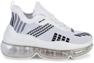 Prada Donna Geo-Knit Chunky Runners