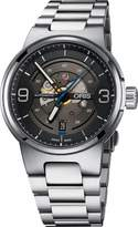 Oris Skeleton Dial Stainless Steel Men's Watch 73377164164MB