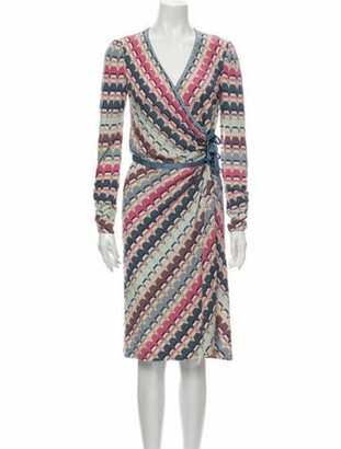 Missoni Printed Midi Length Dress