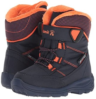 Kamik Stance (Toddler) (Navy/Flame) Boys Shoes