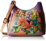 Anuschka Handpainted Leather Large Multi Pocket
