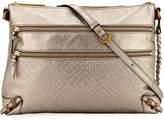 Elliott Lucca Mari Metallic Leather Shoulder Bag