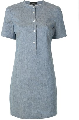 Theory Chambray Shirt Dress