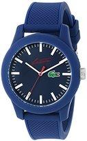 Lacoste Men's 2010860 12.12 Analog Display Quartz Blue Watch