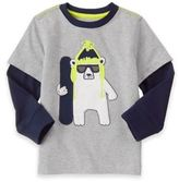 Gymboree Snowboard Long Sleeve Knit Shirt