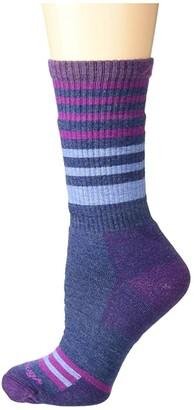Darn Tough Vermont Gatewood Boot Full Cushion Socks (Denim) Women's Crew Cut Socks Shoes