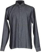 Z Zegna ZZEGNA Denim shirts