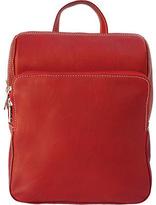 Piel Women's Leather Slim Front Pocket Backpack 2401