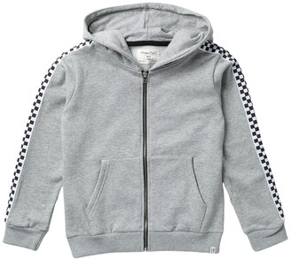 Sovereign Code King Check Hooded Jacket (Big Boys)