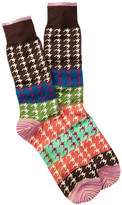 Robert Graham Amias Crew Socks
