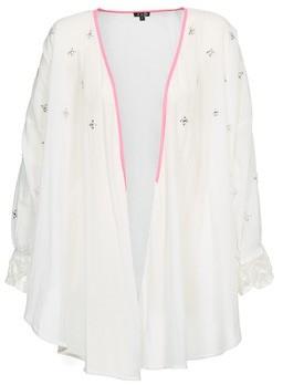 BRIGITTE Bardot APOLLINE women's Cardigans in White