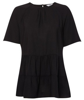 Dorothy Perkins Womens Dp Tall Back Tiered Blouse