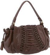 'Tied & True' Corset Flap Drawstring Bag