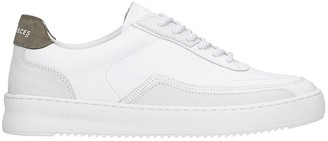 Filling Pieces Mondo Ripple Sneakers In White Leather