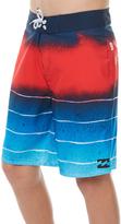 Billabong Kids Boys Tribong X Lo-fi 17 Boardshort Blue