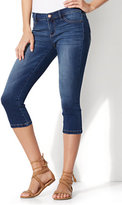 New York & Co. Soho Jeans - Cropped Legging - Force Blue Wash