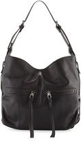 Kooba Lawrence Leather Hobo Bag, Black
