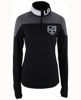 Reebok Women's Los Angeles Kings Performance Quarter-Zip Pullover