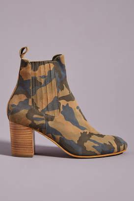 Silent D Utika Camo Ankle Boots