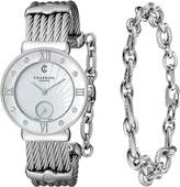 Charriol Women's ST30SD560008 St Tropez Analog Display Swiss Quartz Silver Watch