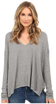 Heather Long Sleeve Boxy Top