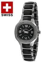 Peugeot Women's PS4906BS Analog Display Swiss Quartz Silver Watch