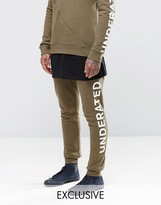 Underated Skinny Joggers With Side Logo