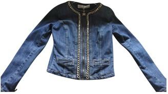 Elisabetta Franchi Blue Denim - Jeans Jacket for Women