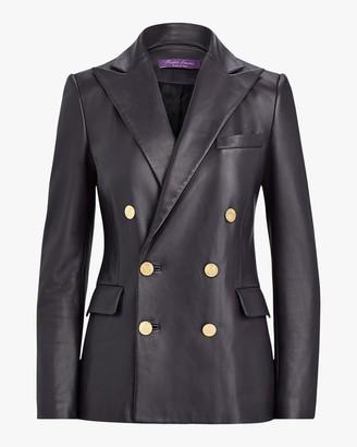 Ralph Lauren Collection Leather Camden Jacket