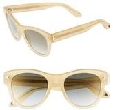 Givenchy Women's 51Mm Retro Sunglasses - Honey