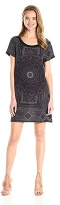 MinkPink Women's Star Gazer Graphic Tee Dress