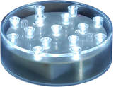 Asstd National Brand Battery Operated LED BaseLite - Round