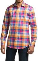 Robert Talbott Crespi IV Trim Fit Plaid Sport Shirt - Long Sleeve (For Men)