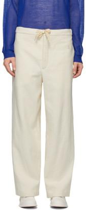 Jil Sanderand Off-White Pyjama Lounge Pants