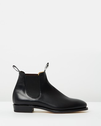 R.M. Williams R.M.Williams - Women's Black Chelsea Boots - Womens Adelaide Boots - Size 6 at The Iconic
