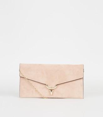 New Look Suedette Clutch Bag