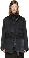 Acne Studios Black Liv Co S Stone Jacket