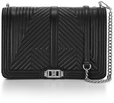 Rebecca Minkoff Geo Quilted Love Jumbo Crossbody Bag