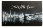 Saks Fifth Avenue Cityscape Gift Card