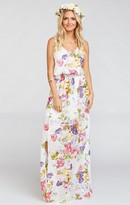 MUMU Kendall Maxi Dress ~ Best Friend Floral