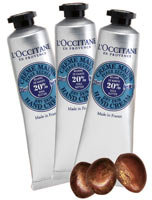 L'Occitane LOccitane Shea Butter Hand Cream Trio 3 x 1oz