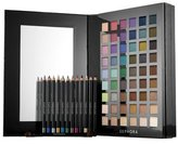 Sephora 66 Peice Chroma Color Eye Pallet 54 Eyeshadow 12 Eye Pencils 1 Double Ended Eyeshadow Brush $300 Value by