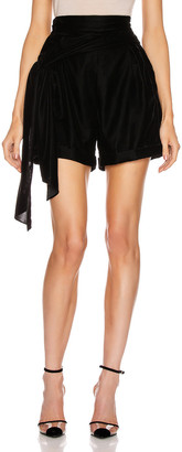Hellessy Yves Short in Black | FWRD