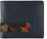 Nixon Showoff Bi-Fold Wallet Navy Woodland Camo