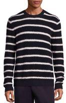Vince Wool Blend Textured Knit Sweater