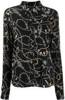 Pinko jewelry print shirt
